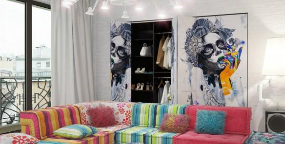 оформление каталога для мебельной фирмы ОБИТАЖ